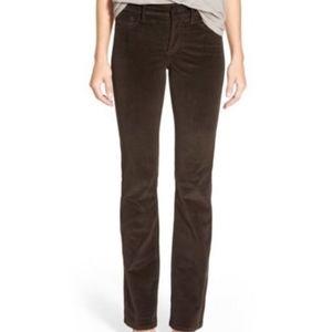 NYDJ Corduroy Brown Boot Cut Pants 6 Petite